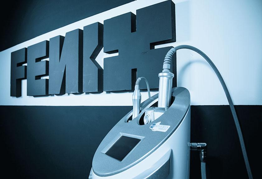 Empresa Grupo Fenix y dispositivo para tratamiento facial y corporal.