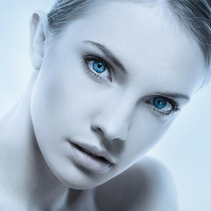 Tratamiento facial antiarrugas para el rostro.